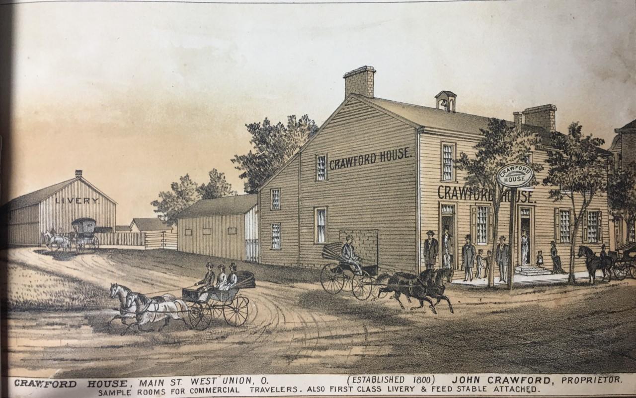 Crawford House currently  Olde Wayside Inn
